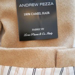 Andrew Fezza mens camel hair jacket